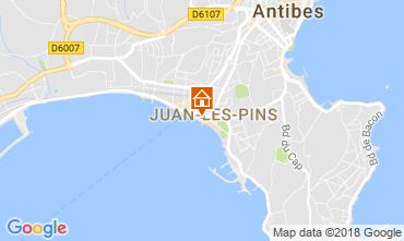 Mapa Juan les Pins Apartamentos 65540