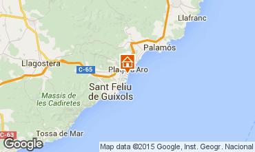 Mapa Playa d'Aro Apartamentos 97258