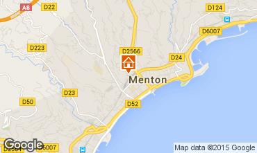 Mapa Menton Apartamentos 96723