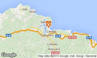 Mapa Laredo Apartamentos 101976