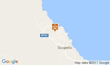 Mapa Scopello Vivenda 80024
