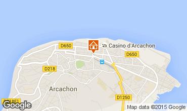 Mapa Arcachon Apartamentos 75789