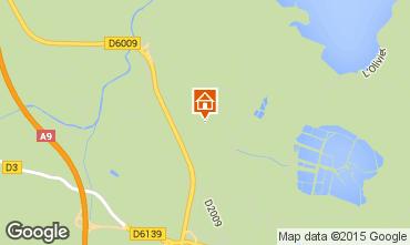 Mapa Sigean Mobil Home 97371
