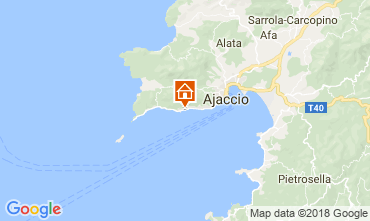 Mapa Ajaccio Estúdio 114480