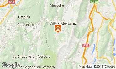 Mapa Villard de Lans - Corren�on en Vercors Chal� 3647