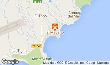 Mapa El Medano Apartamentos 83636
