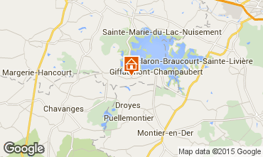 Mapa Giffaumont-Champaubert Casa de turismo rural/Casa de campo 12632