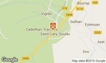 Mapa Saint Lary Soulan Apartamentos 102268