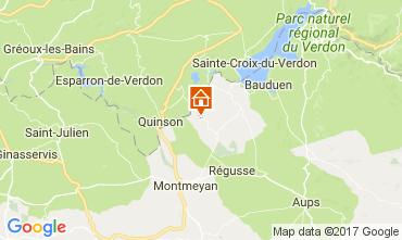 Mapa Artignosc-sur-Verdon Casa 109482