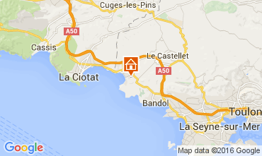 Mapa Saint Cyr sur Mer Estúdio 89046