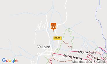 Mapa Valloire Apartamentos 116671
