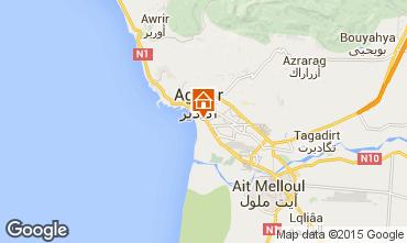 Mapa Agadir Apartamentos 53831