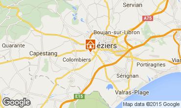 Mapa Beziers Casa 92346