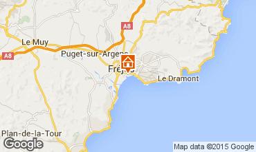 Mapa Fréjus Apartamentos 8488
