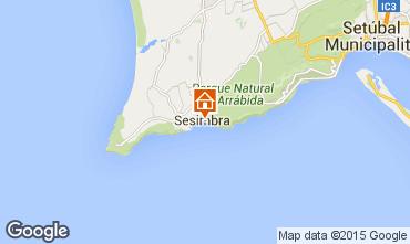 Mapa Sesimbra Apartamentos 87553