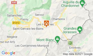 Mapa Chamonix Mont-Blanc Chal� 1412