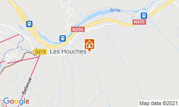 Mapa Chamonix Mont-Blanc Chalé 1412