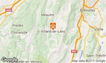 Mapa Villard de Lans - Corren�on en Vercors Chal� 94207