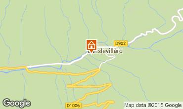 Mapa Val Cenis Apartamentos 80719