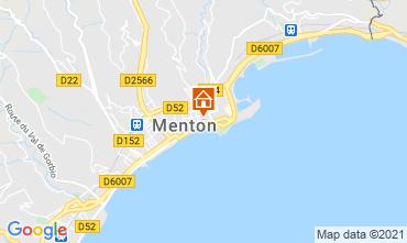 Mapa Menton Apartamentos 101898