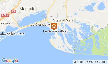Mapa Le Grau du Roi Apartamentos 110385