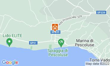 Mapa Pescoluse Apartamentos 113575