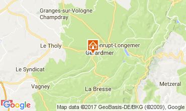 Mapa Gérardmer Chalé 108389