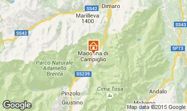 Mapa Madonna di Campiglio Apartamentos 50220