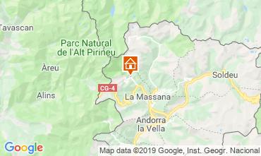 Mapa Pal-Arinsal Chalé 4740