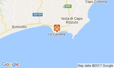 Mapa Le Castella Apartamentos 78532