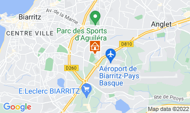 Mapa Biarritz Apartamentos 103827