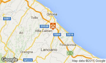 Mapa San Vito Chietino Apartamentos 99082