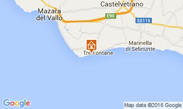 Mapa Tre Fontane Apartamentos 53891