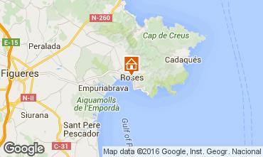 Mapa Rosas Apartamentos 102234