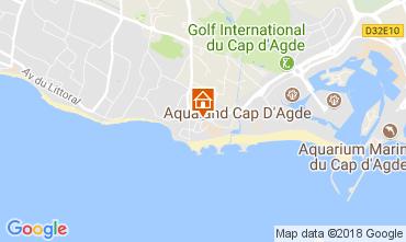 Mapa Cap d'Agde Vivenda 113221