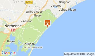 Mapa Narbonne Apartamentos 115634