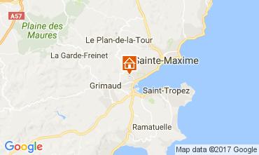 Mapa Saint Tropez Casa 70377