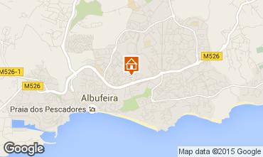 Mapa Albufeira Apartamentos 70872