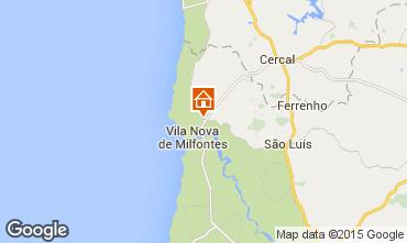 Mapa Vila Nova de Milfontes Casa de turismo rural/Casa de campo 40457
