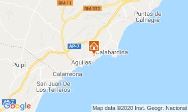 Mapa Águilas Apartamentos 108388