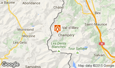 Mapa Les Crosets Estúdio 4698