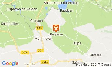 Mapa Les Salles sur Verdon Casa 29581