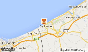 Mapa La Panne Apartamentos 91057