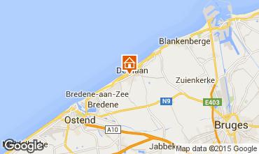 Mapa Bruges Estúdio 37901
