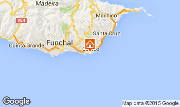 Mapa Santa Cruz Bungalow 39156