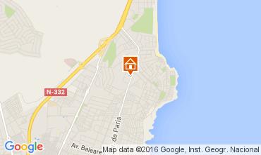 Mapa Torrevieja Apartamentos 83846