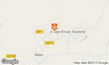Mapa Alpe d'Huez Apartamentos 28869
