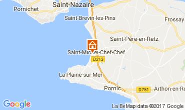 Mapa Saint Michel Chef Chef Casa de turismo rural/Casa de campo 112642
