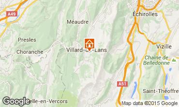 Mapa Villard de Lans - Corrençon en Vercors Estúdio 28781