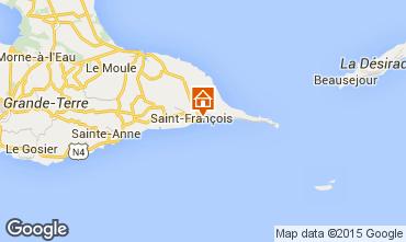 Mapa Saint Francois Apartamentos 101975